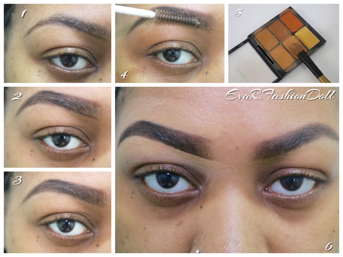 Le tracé de sourcil / How to do your eyebrows? « Step By Step »