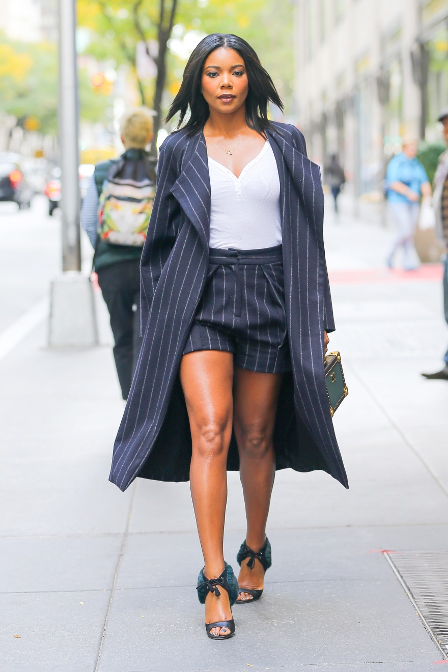 Gabrielle Union spotted in a stylish outfit while out and about in New York City
